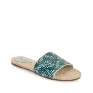 NWOT Yosi Samra 'Reese' Palm Slide Sandal